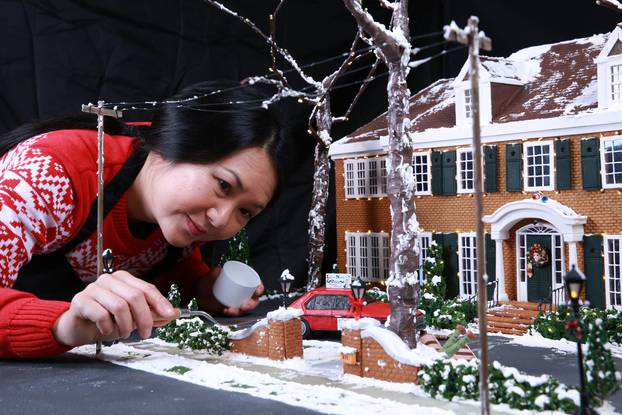 Home Alone gingerbread house