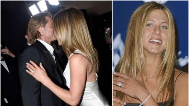 Jen i dalje nosi Bradov prsten? 'Imala ga je na dodjeli nagrada'