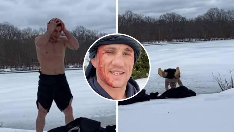 Baš si 'Budalishvili': Skočio na glavu ravno u zaleđeno jezero
