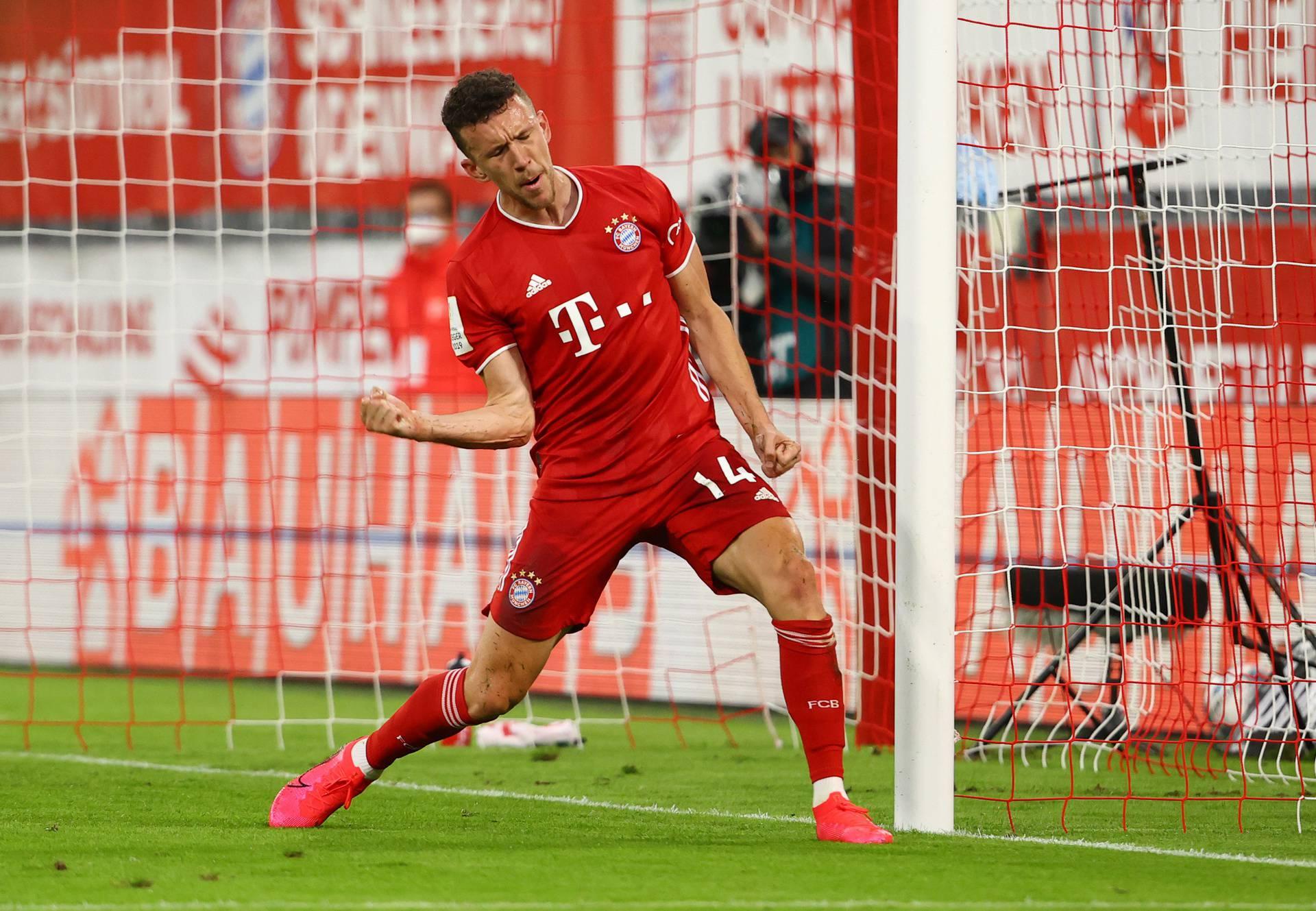 DFB Cup - Semi Final - Bayern Munich v Eintracht Frankfurt