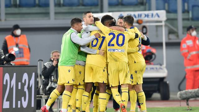 Italian football Serie A match - SS Lazio vs Hellas Verona