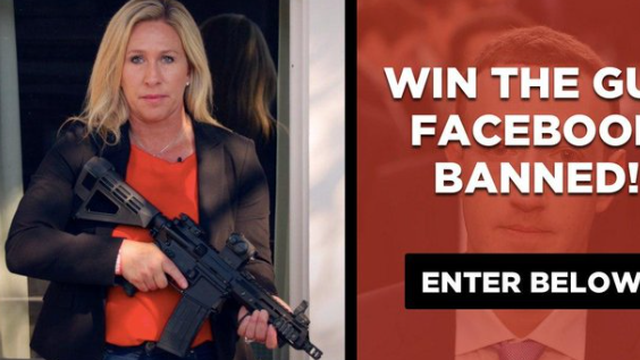 Republikanka poklanja pušku i upozorava: 'Nabavite si pištolj prije nego što bude prekasno'