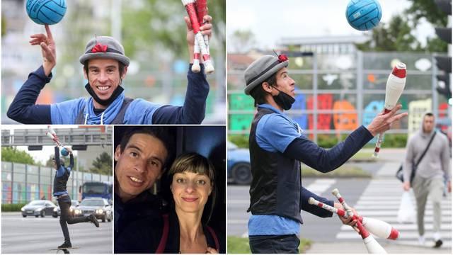 Žongler sa semafora: 'Ovdje sam se zaljubio na prvi pogled i odlučio odseliti iz rodne zemlje'