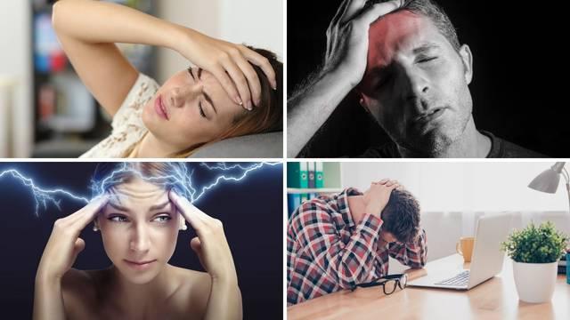 Vrste i uzroci glavobolja te kako si olakšati patnju: 'Ponekad su povezane s nekim bolestima'