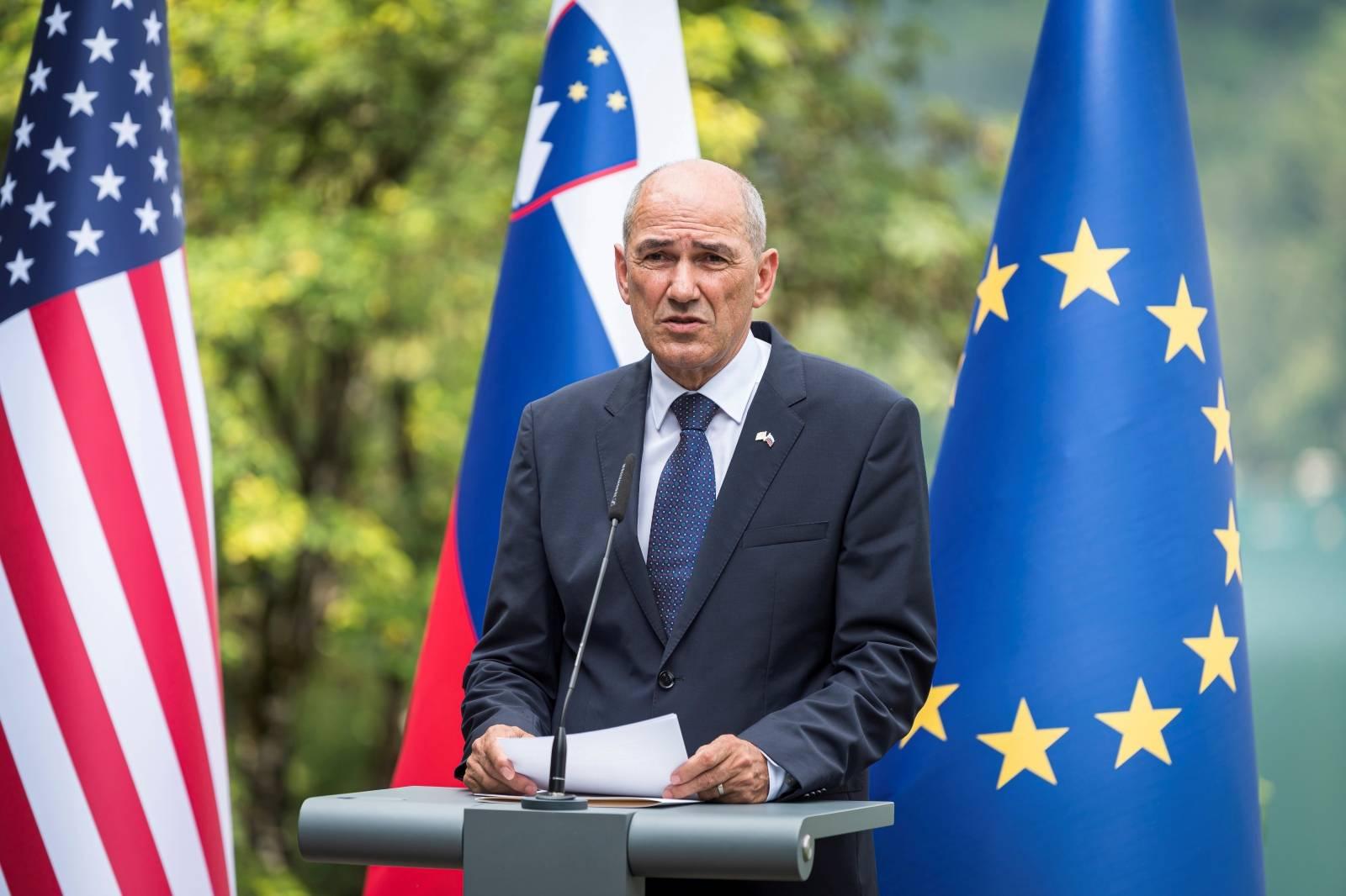 U.S. Secretary of State Pompeo visits in Slovenia
