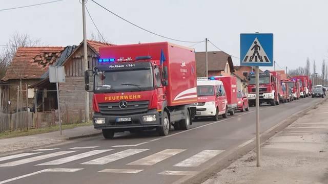 Iz Njemačke stigao 21 kamion humanitarne pomoći za Glinu
