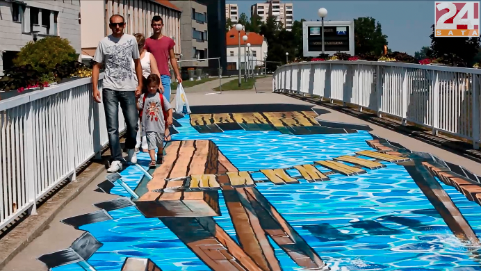Cijela Hrvatska poludjela za 3D 'srušenim mostom' u Vukovaru