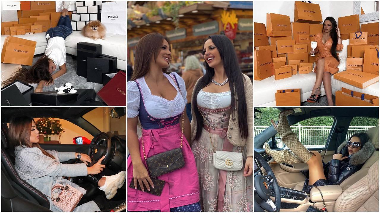 One su hrvatske Kardashianke: Ormar im je veličine sobe, a natrpan je markiranim torbama