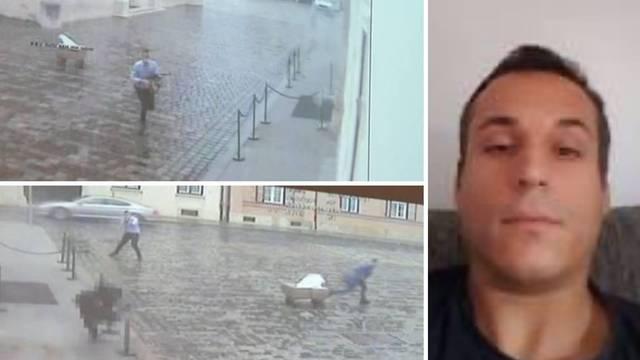 Bezuk ispalio više od 30 metaka na trgu: Ranjeni policajac Oskar Fiuri progovorio je za 24sata