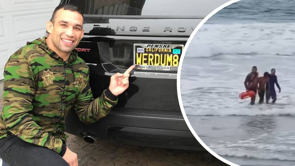 Borac heroj: Werdum je spasio dvoje djece od utapanja u moru