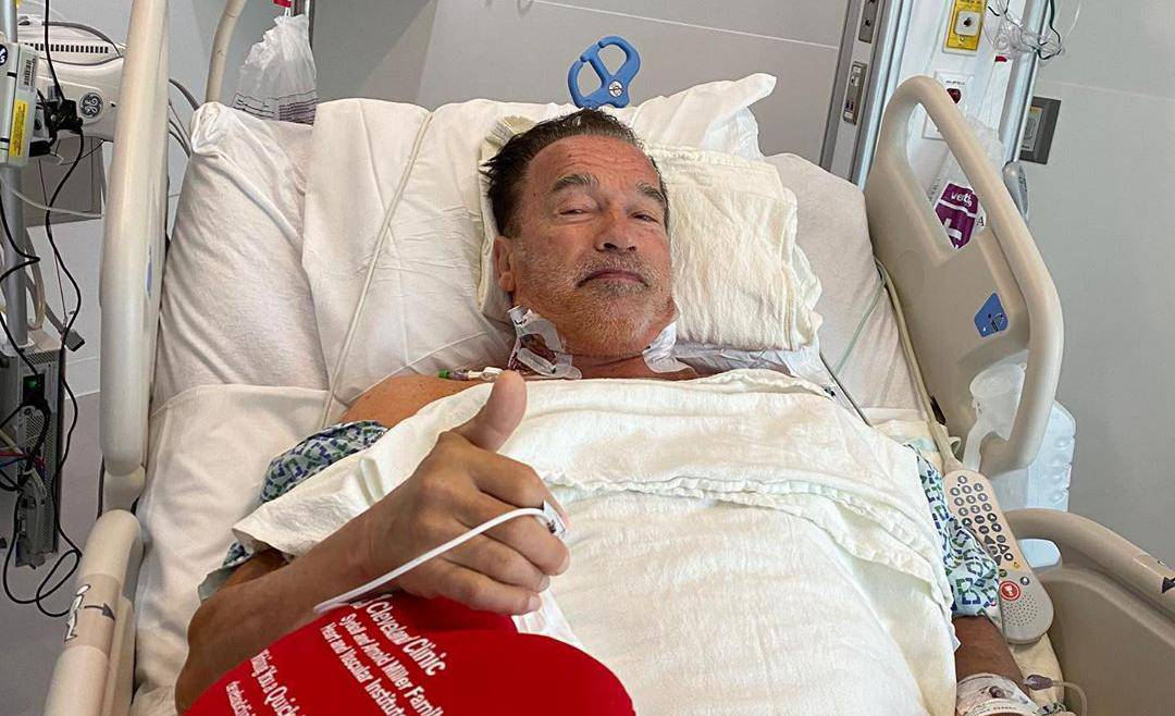 Arnold Schwarzenegger bio na operaciji srca: 'Fantastično sam'