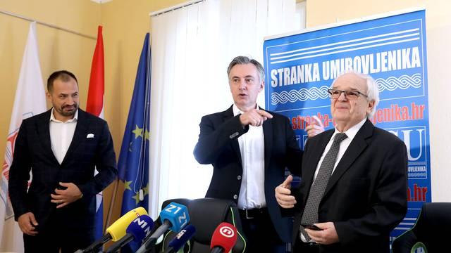 Zagreb: Škoro i predsjednik SU, Lazar Grujić najavili zajednički izlazak na izbore