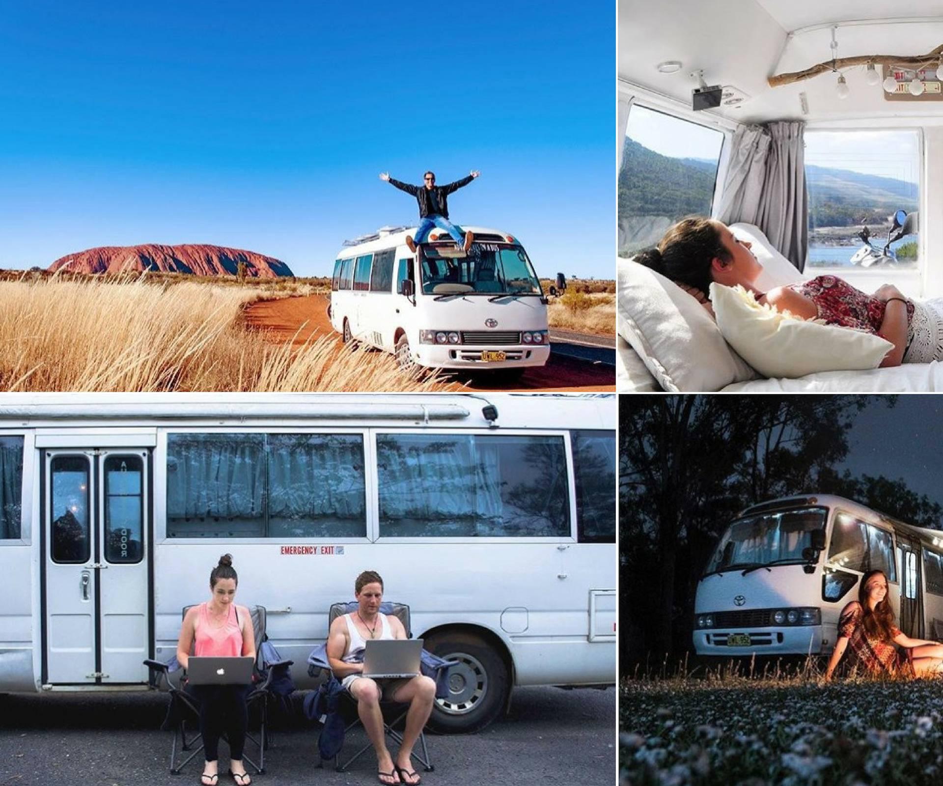 Prodali sve što su imali i počeli novi život u starom autobusu