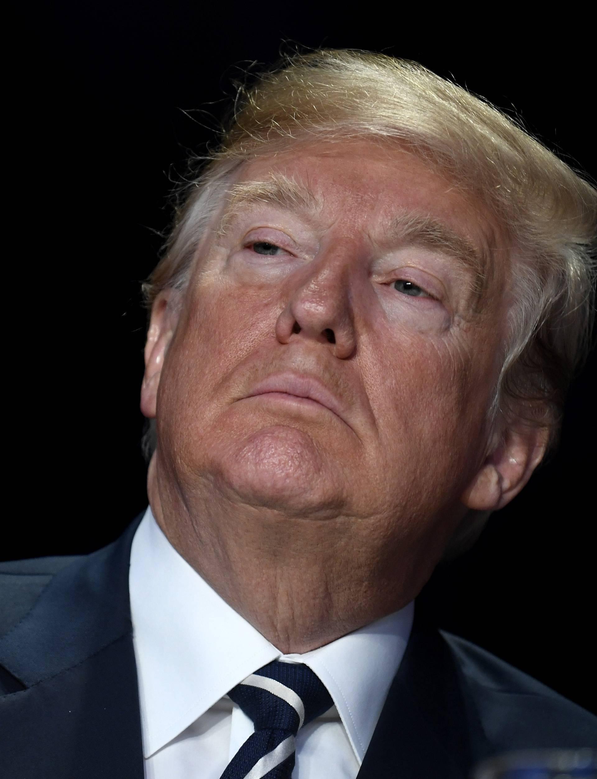 President Trump attends annual National Prayer Breakfast