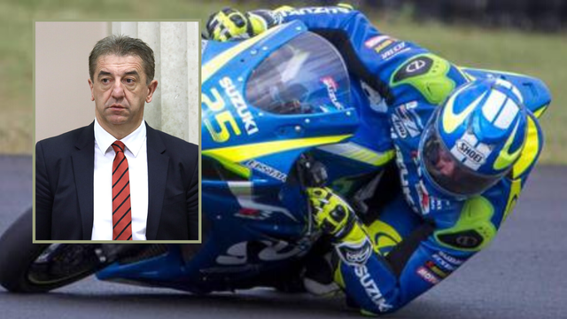Darko Milinović pao s motora na Grobniku: Teško je ozlijeđen