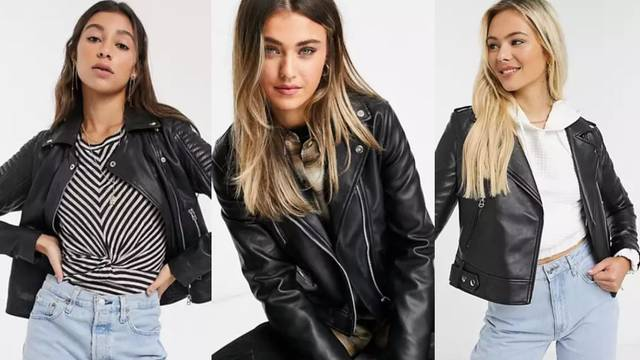 Mala crna kožna jakna: Top 10 izvrsnih street style kombinacija