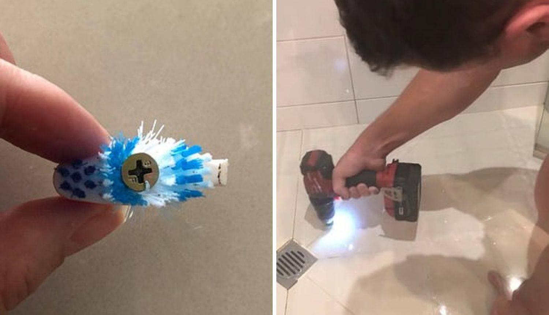 'Muž je smislio odličan trik za brzo čišćenje fuga u kupaonici'