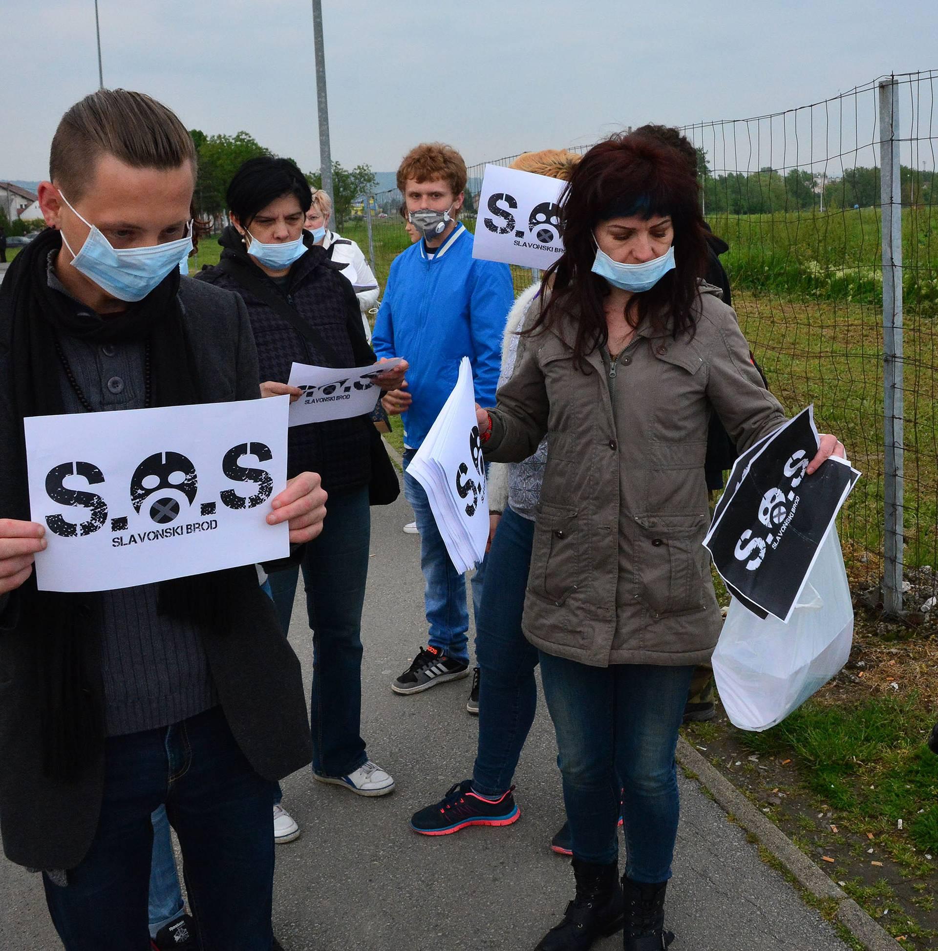 Opasno onečišćenje: Stanovnici Slavonskog Broda jedva dišu