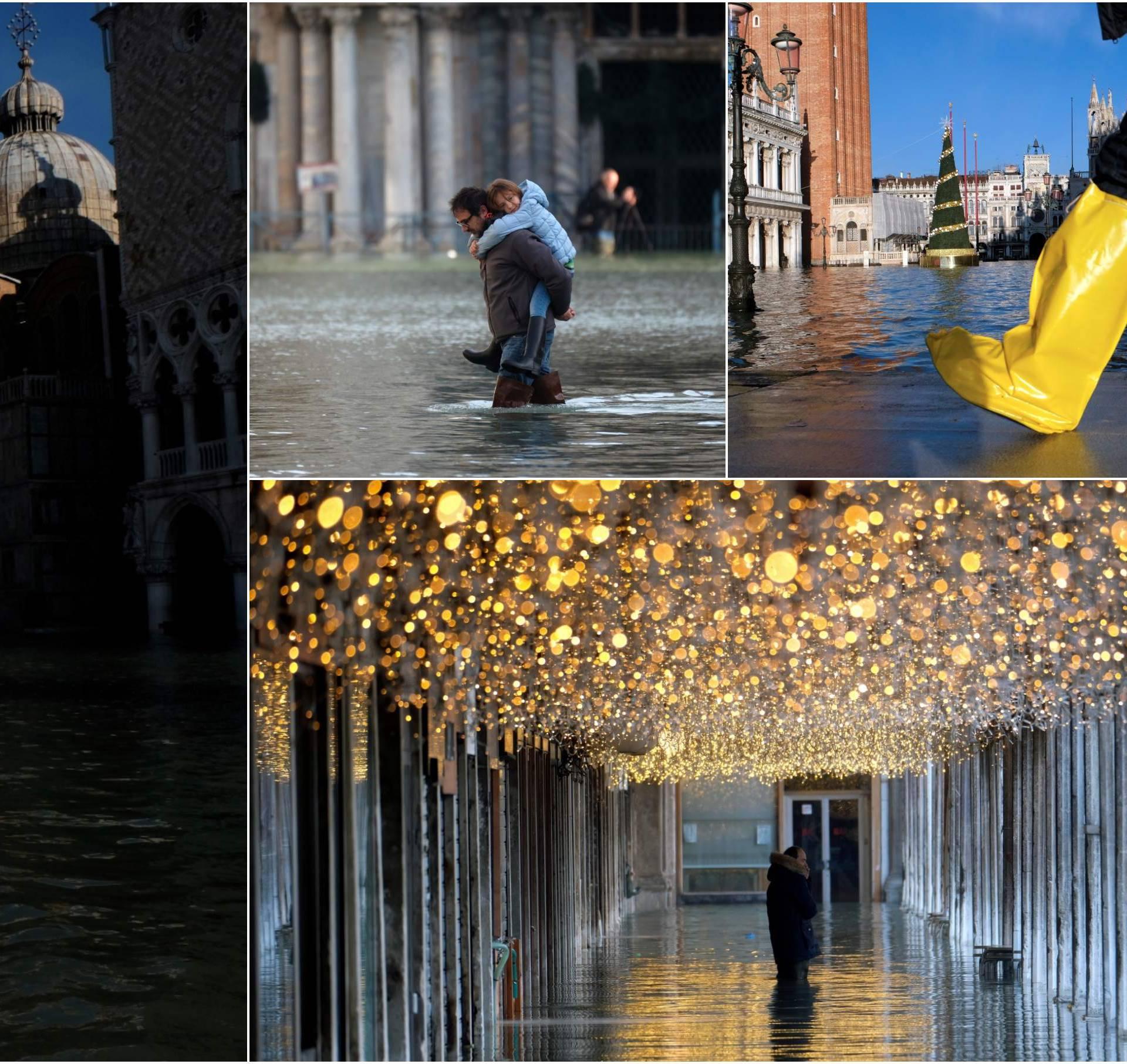 U Veneciji opet poplava, turiste je strah: 'Otkazuju rezervacije'