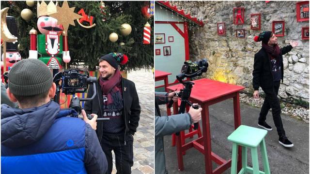 Popularna televizija iz Rusije je došla u Zagreb snimati Advent