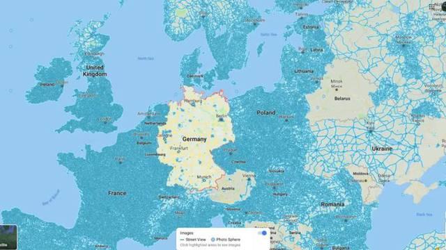 Njemačka je prazna rupa - zašto nema Street View