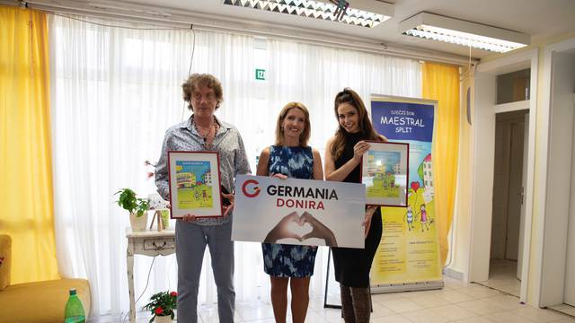"Tonči Huljić i Germania Sport obradovali mališane iz doma ""Maestral""!"