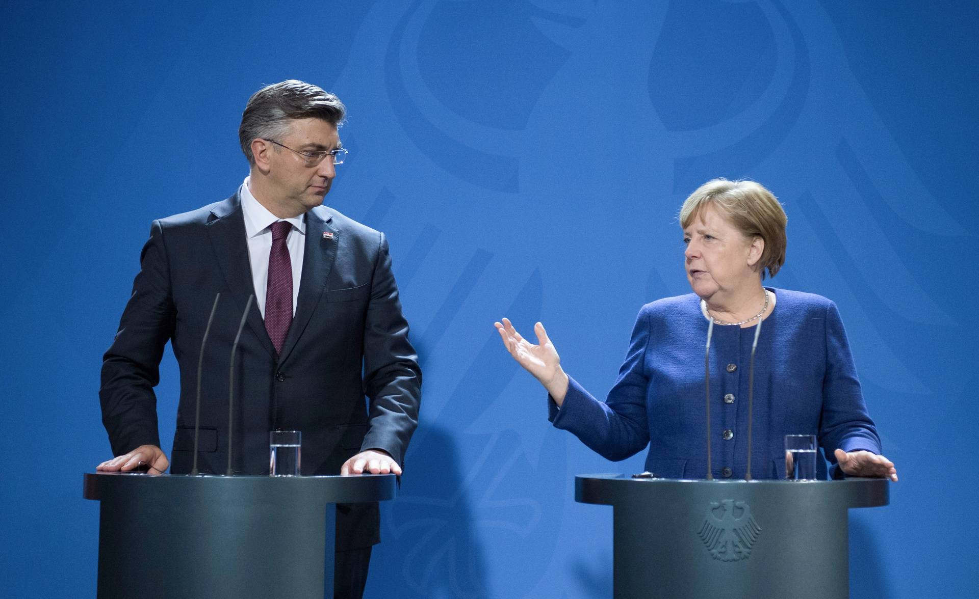 Plenković i Merkel razgovarali o prioritetima presjedanja EU...