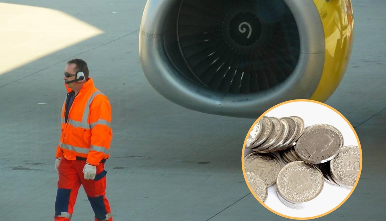 Bacila kovanice u motor aviona za sreću: Završila je u pritvoru