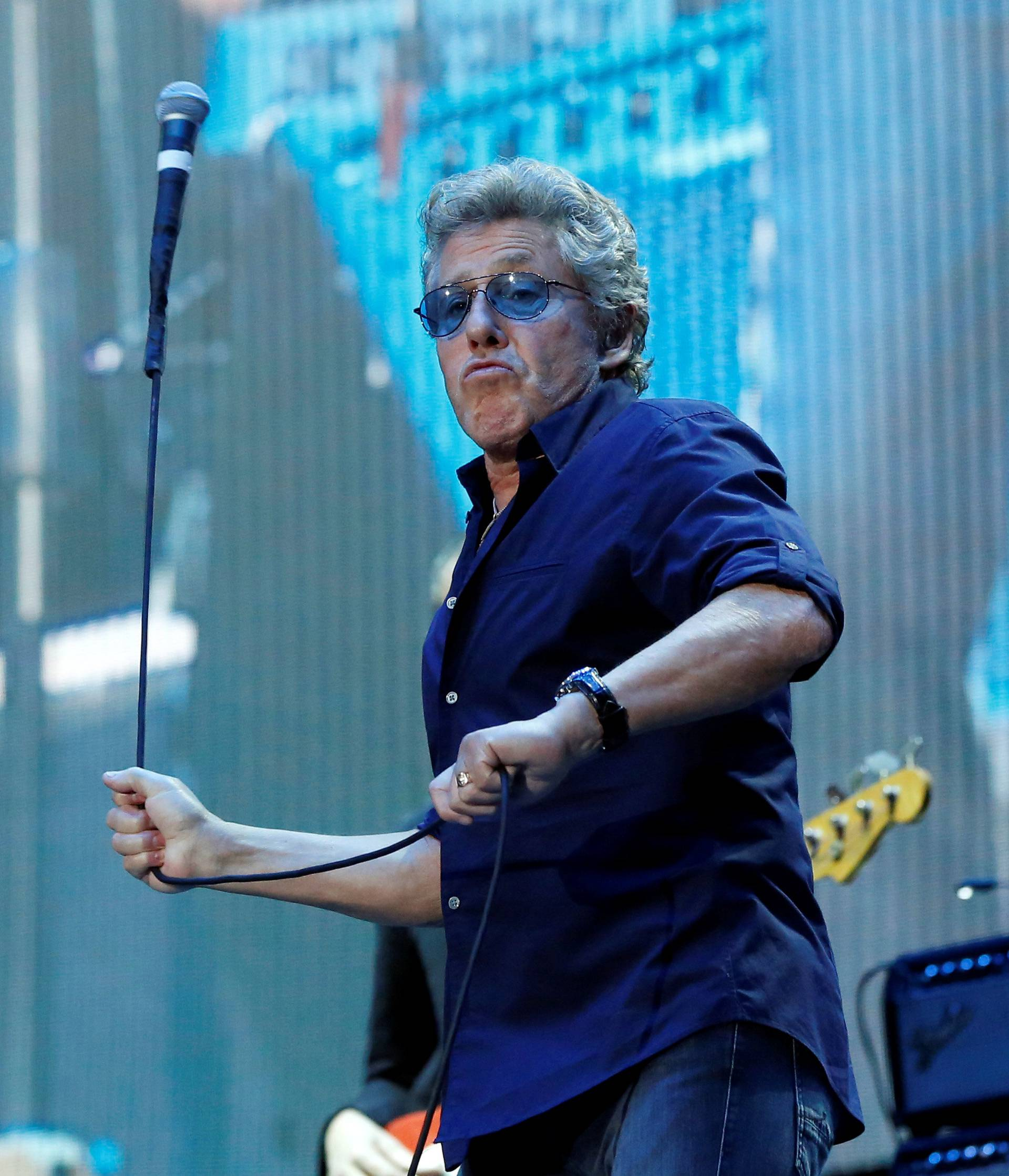 Daltrey of The Who performs at Desert Trip music festival at Empire Polo Club in Indio