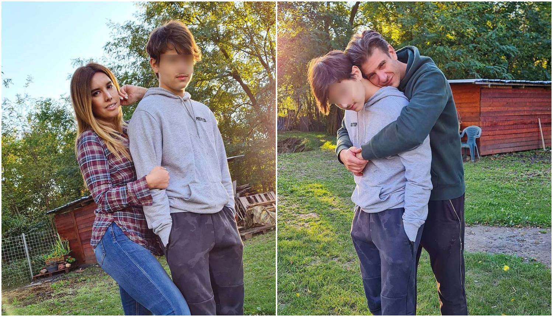 Rijetke fotke bivših supružnika: Celzijus i Drpić pozirali sa sinom