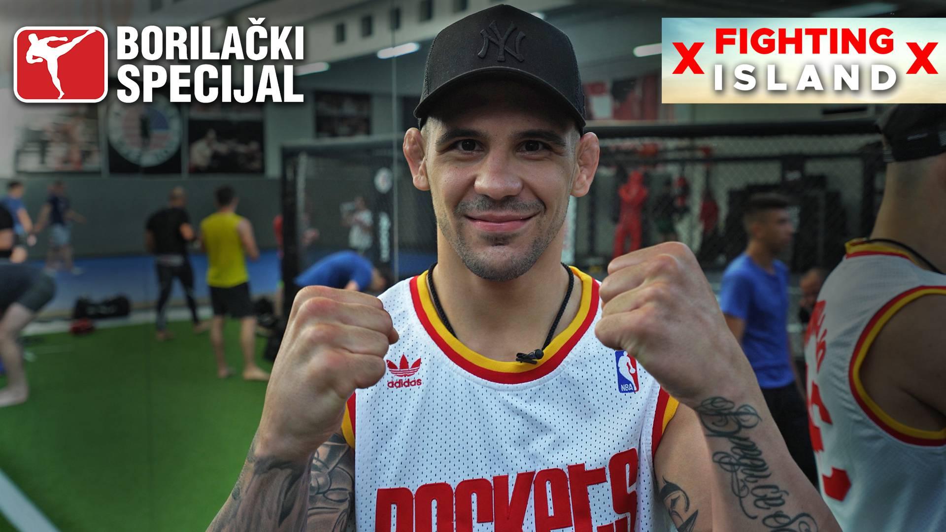UFC zvijezda Aleksandar Rakić: 'Najveća Smithova opasnost je iskustvo, ali ja ću pobijediti...'