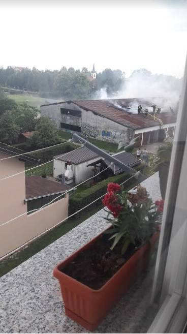 'Od dima i smrada nismo mogli van': Planule garaže u V. Gorici