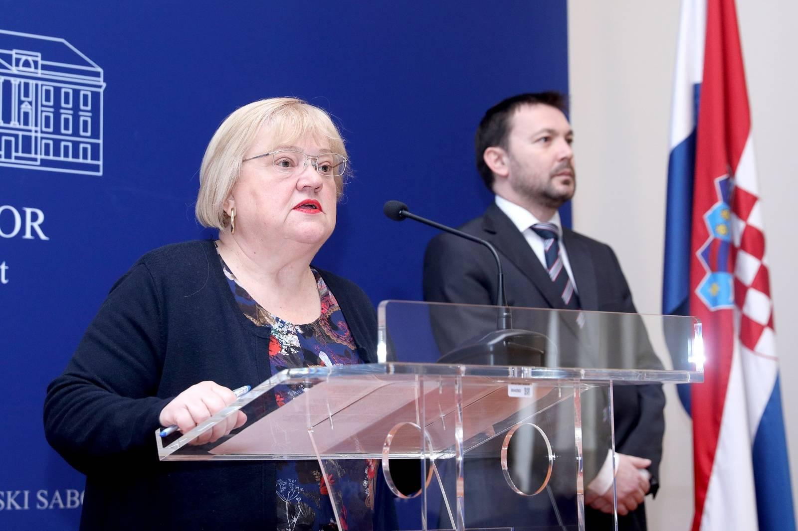 Zagreb: Anka Mrak Taritaš i Arsen Bauk o HDZ-ovom izbornom povjerenstvu
