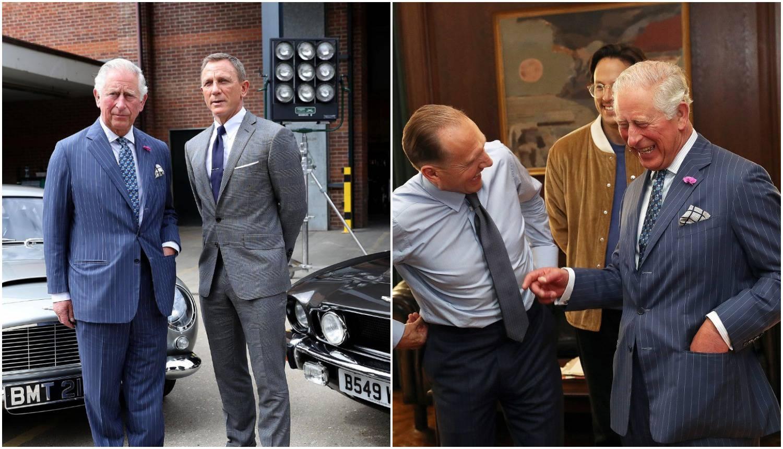 Snima se novi James Bond: Princ Charles je došao na set