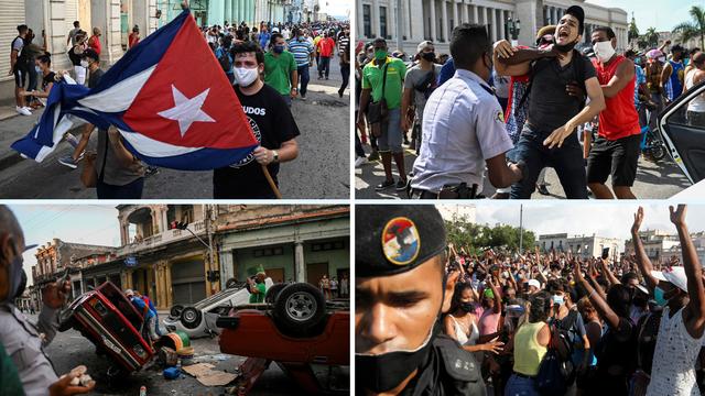 Masovni prosvjedi u Kubi zbog velike nestašice i siromaštva: 'Gladni smo. Nemamo ništa'