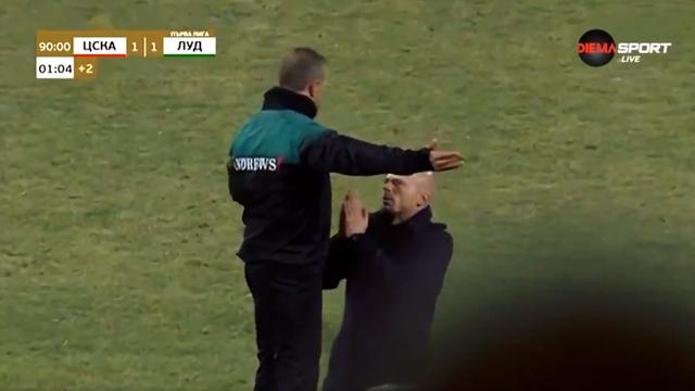 'Daj još koju minutu!' Trener Maestro klečeći molio suca...