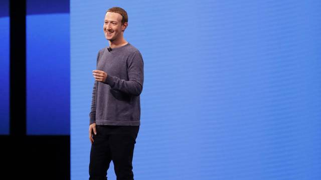 Facebook CEO Mark Zuckerberg speaks about privacy during his keynote at Facebook Inc's annual F8 developers conference in San Jose