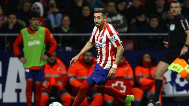 Atletico de Madrid vs Levante UD Soccer to La Liga Spain match 19