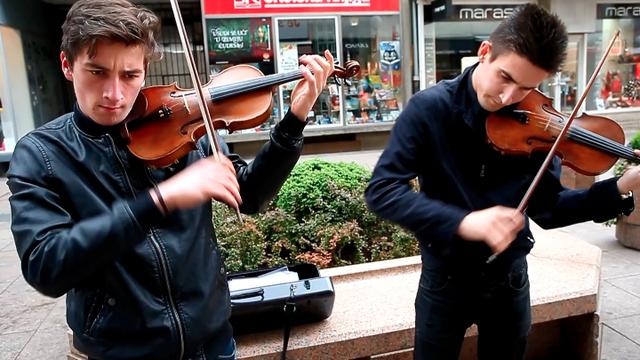 Dva Zagrepčana na violinama: Rasturili poznati svjetski hit