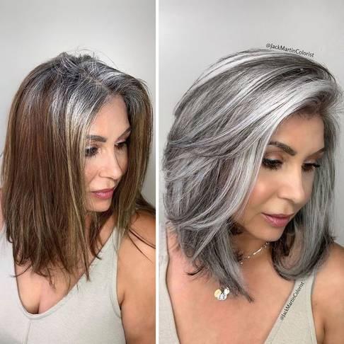 Sijeda boja kose
