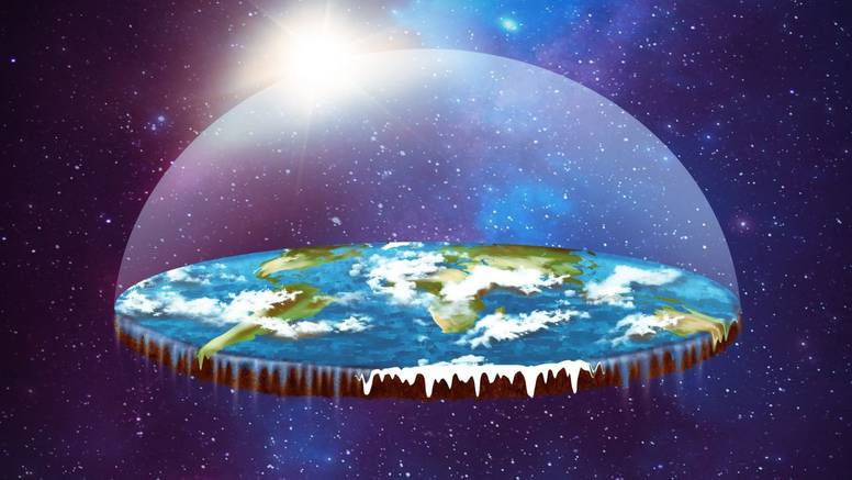Zemlja nije ni okrugla ni ravna: Ona je dijamant na 7 stupova, a ljudi se kreću kao u videoigri...