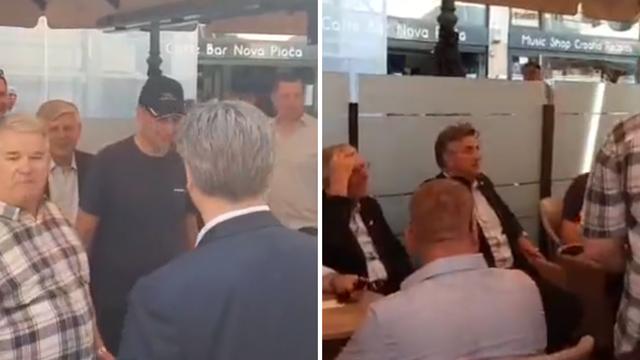 Uživo iz Zagreba: Plenković je na špici, druži se s građanima po kafićima, ne drže se distance