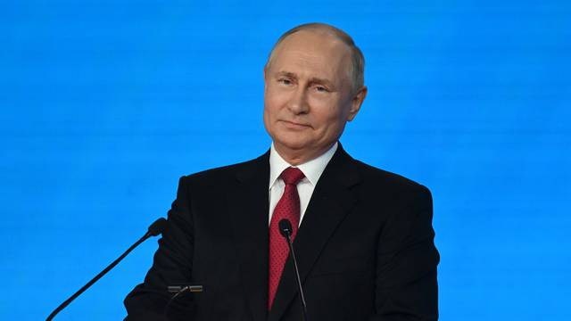 Russian President Putin attends a congress of the United Russia party in Moscow