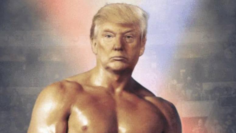 Donald Balboa: Trump 'tvitnuo' fotku vlastite glave na Rockyju