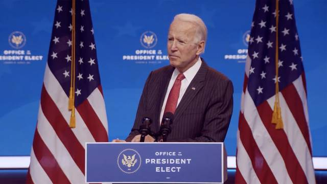 Biden Meets Virtually with members of the National Governors Association