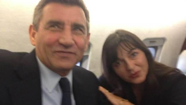 Rijetke fotografije iz aviona s Gotovinom: Nisu skrivali sreću