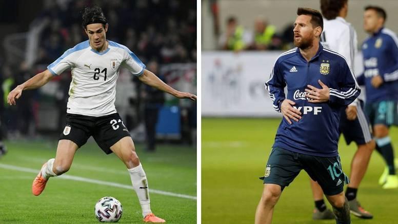 Momci, to je samo prijateljska: Messi i Cavani dogovorili 'fajt'