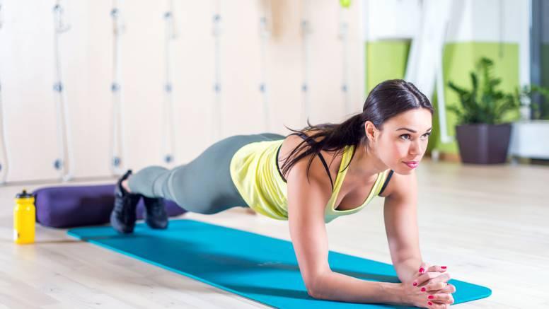Plank - statična vježba snage  koja vas najbrže vraća u formu