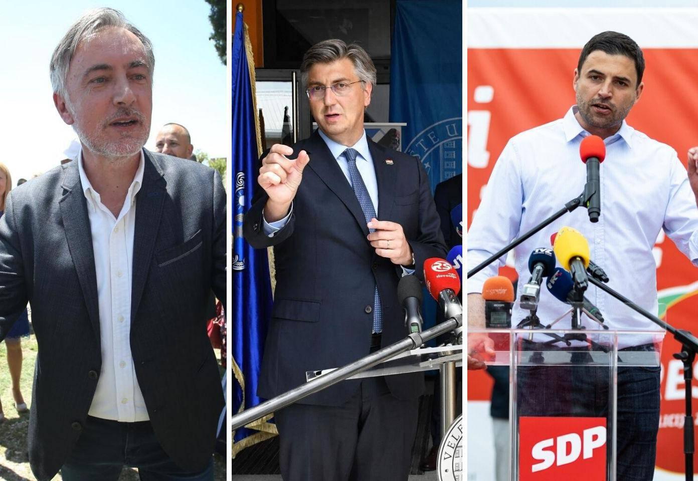 HDZ-u 52 mandata, Restartu 51, Škori 18, rastu Most i Možemo!