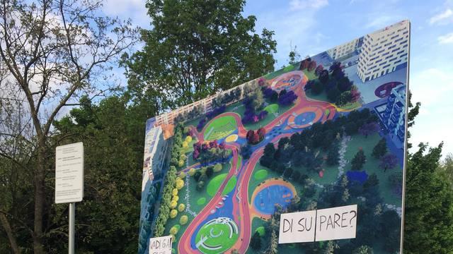 Protiv betonizacije: Stanovnici Savice će stati i ispred bagera